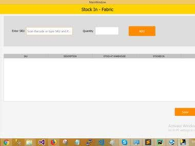 POS - Stock management and Billing system