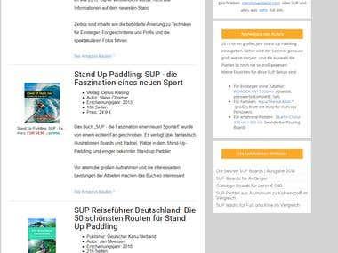 website Development, integrate with Amazon