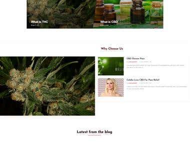 CBD Websites with blog Articles