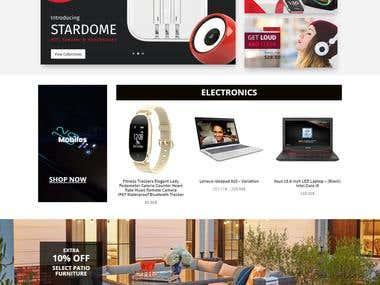 Resmey E-commerce website