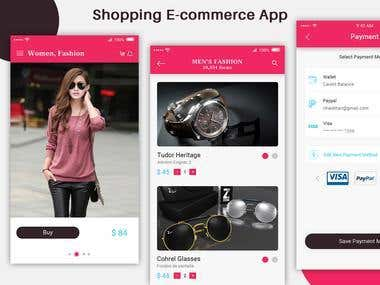 Accessories Shopping App