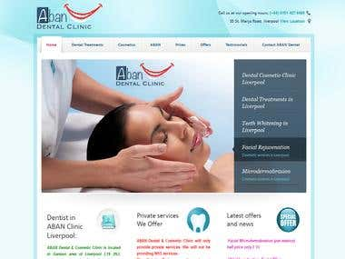 A dental website