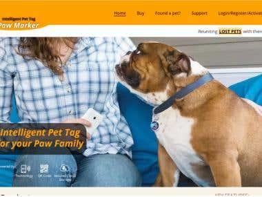 PawMarker - Wordpress website development