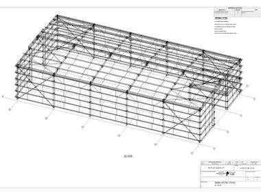 Expert in making workshop DWG. by Tekla Structure& Auto-Cad