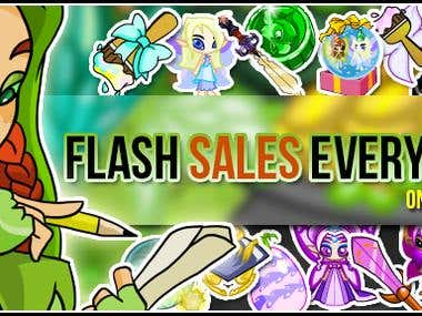 Selling banner