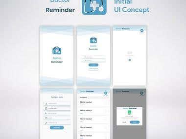 Doctor Reminder App
