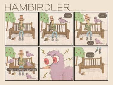 Comic Illustrarion: Hambirdler