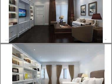 Interior Design of American Villas