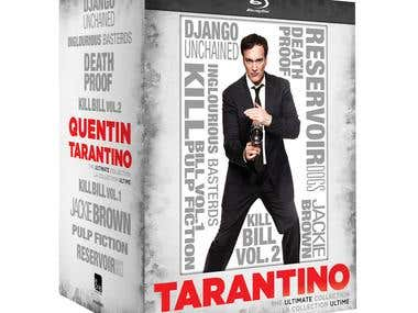 Tarantino Collection Blu-ray slipcase