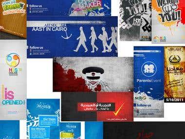 Various online - offline designs