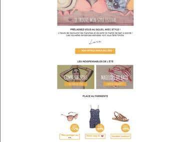 Newsletter Shopalike