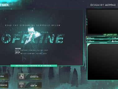 Design Twitch Overlay