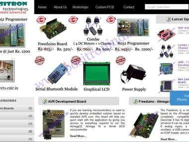 Positron Technologie's Website