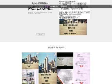 Website using Laravel Framework