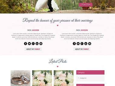 Web site Design/Wordpress