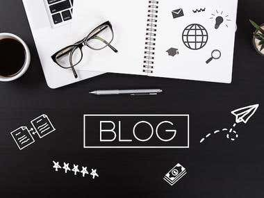 Blog Writing Sample