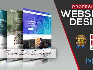 :: Professional Website Templates High Resolution ::