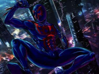 spiderman comissions