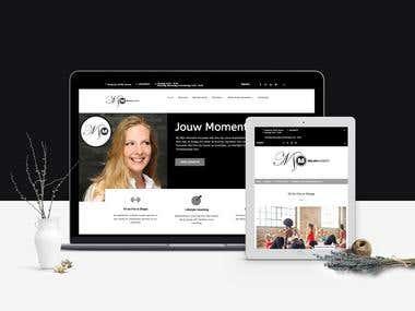 Wordpress Website examples - Mijn Moment