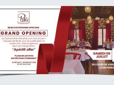 Invitation - Grand Opening