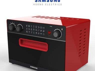 Diseños conceptuales de electrodomésticos.