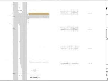 Tuskawilla Rd. flared left-turn and access way design--FL