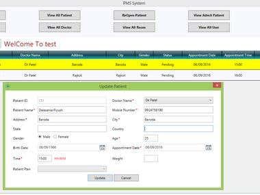 Hospital SMS System