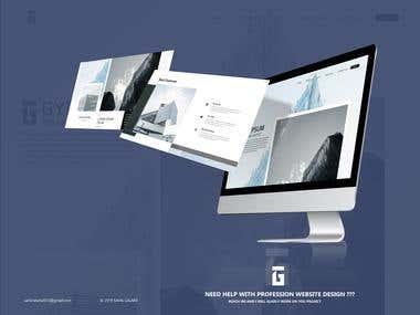 "Website Design for ""GYPSUM BOARD GROUP"""