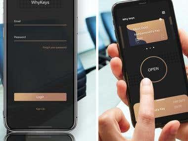 Digital Key App (WhyKeys)