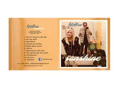 AfterBlue CD Cover Design