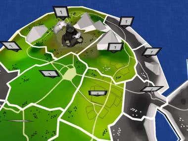 TD game global map