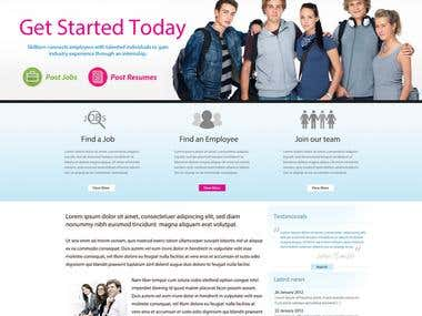 Simple School CMS Website
