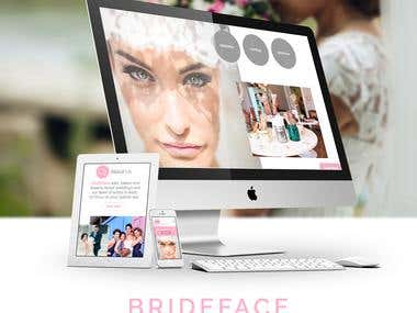 Design Website Brideface