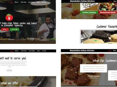 Italian Restaurant Web Designer
