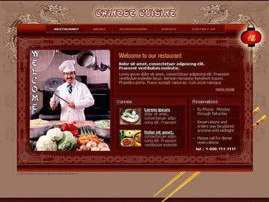 Restaurant Web Project