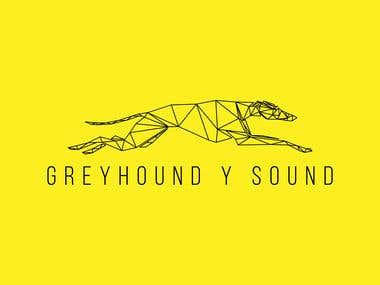 Greyhound poly logo