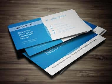 I will do business card and logo