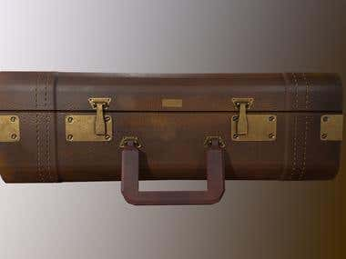 Briefcase Model and Texture