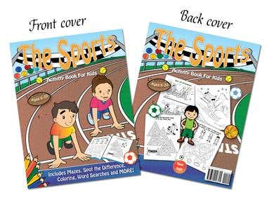 The Sports Activity Book Cover