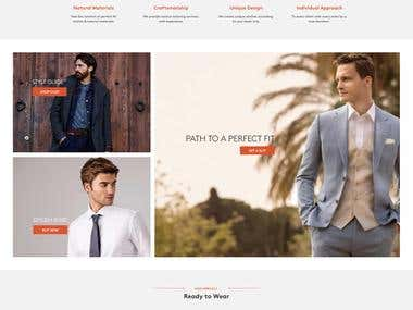 Tailored Suit Paris by Wordpress