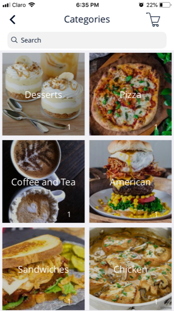 Food delivery app - iOS and Android, Progressive Web Apps