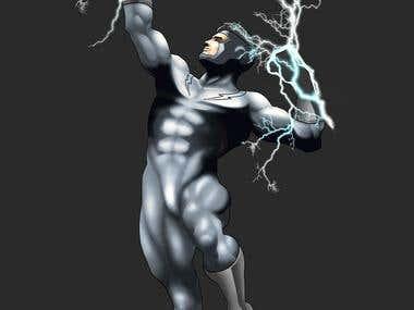 Design of electric superhero