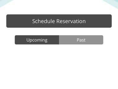 Appointment scheduler - Native iOS and Android app