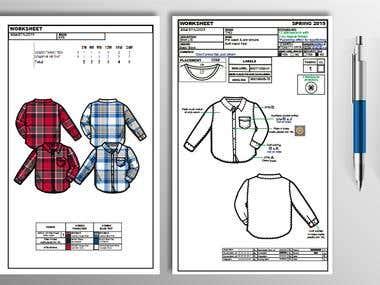 Garments Tech Pack