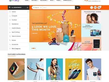 VISTY E-COMMERCE WEBSITE