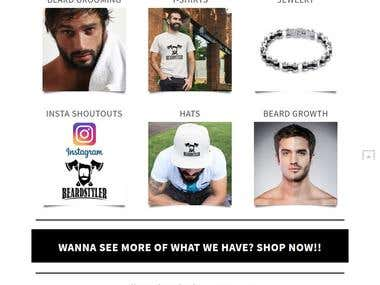 Beard Styles Website