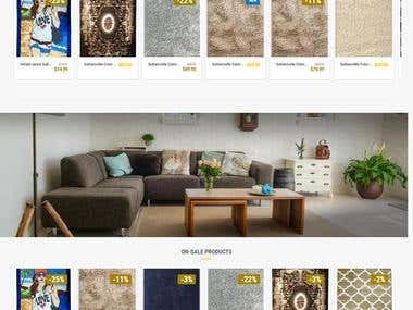 Carpet Store Website