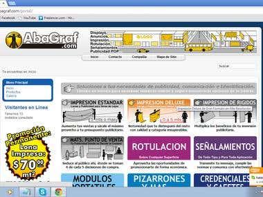Advertising website