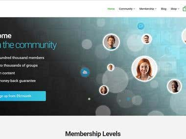 AIT Community Network Membership Web App