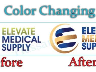 Color Changing of Logo